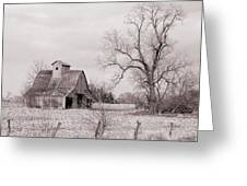 Iowa Farm Greeting Card