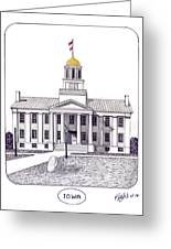 Iowa Greeting Card by Frederic Kohli