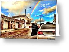 #iphone # Rainbow Greeting Card by Estefania Leon