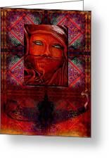 Iran Daze Greeting Card
