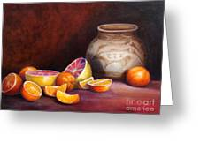 Iranian Still Life Greeting Card