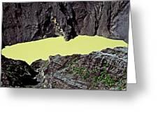 Irazu Volcano - Costa Rica Greeting Card