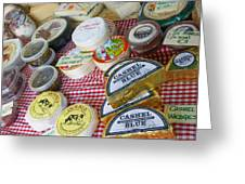 Ireland Cheese Vendor Greeting Card