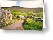 Ireland Farmland Greeting Card