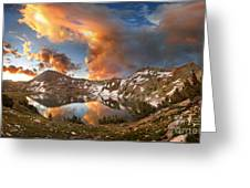 Ireland Lake Sunrise - Yosemite Greeting Card