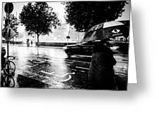 Ireland Rain Greeting Card