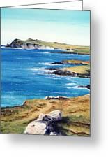 Ireland Sea Greeting Card
