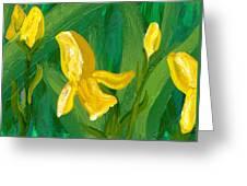 Iris Flow Greeting Card