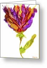 Iris Flower 2 Greeting Card