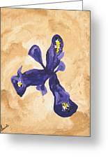 Iris Iv Pixie  Greeting Card