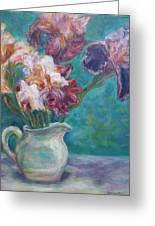 Iris Medley - Original Impressionist Painting Greeting Card