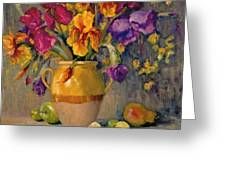 Iris Rhapsody Greeting Card