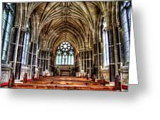 Irish Abbey Greeting Card