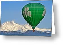 Irish Balloon Greeting Card