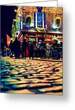Irish Bar Greeting Card