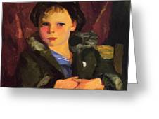 Irish Boy 1898 Greeting Card