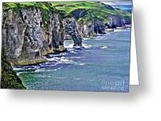 Irish Coast Greeting Card