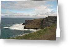 Irish Coast Greeting Card