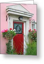 Pink Irish Home Greeting Card