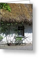 Irish Farm Cottage Window County Cork Ireland Greeting Card