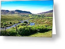 Irish Fields Of Green Greeting Card