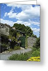 Irish Garden County Clare Greeting Card