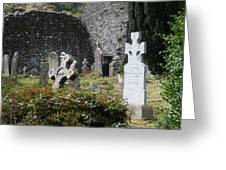 Irish Graves Greeting Card
