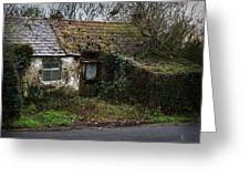 Irish Hovel Greeting Card