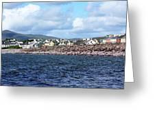 Irish Seaside Village, Co Kerry  Greeting Card