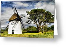 Irish Windmill Greeting Card