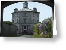 Irish Wisteria Lane Greeting Card