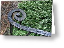 Iron Banister Greeting Card