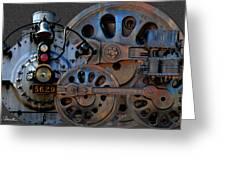Iron Circles No. 2 Greeting Card