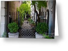 Iron Gate Alley Greeting Card