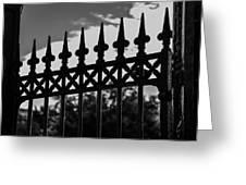 Iron Gate Greeting Card