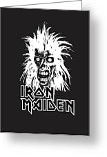 Iron Maiden Greeting Card