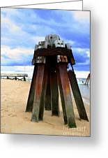 Iron Structure Greeting Card