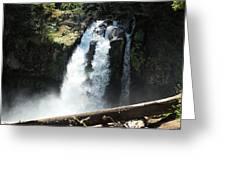Ironhead Falls Greeting Card