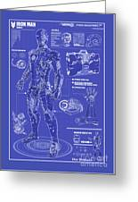 Ironman Patent Greeting Card