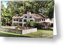 Ironmaster Mansion At Hopewell Furnace  Greeting Card