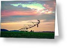 Irrigation Greeting Card