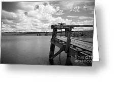 Irrigation Pond Greeting Card