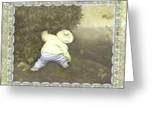 Is Bunny In Bushes? Greeting Card
