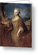 Isabella Louise Of Orleans. Queen Of Spain Greeting Card