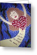 Isadora Duncan Greeting Card