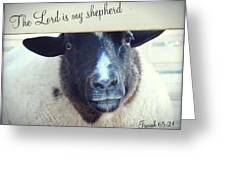 Isaiah Sixty Five Greeting Card
