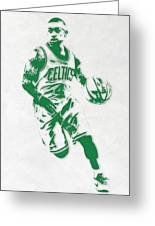 Isaiah Thomas Boston Celtics Pixel Art 2 Greeting Card