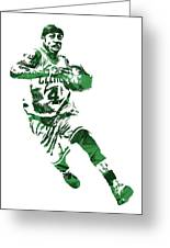Isaiah Thomas Boston Celtics Pixel Art 5 Greeting Card