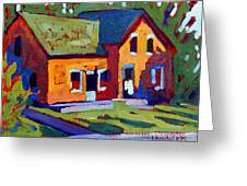 Isaiah Tubbs Neighbour Greeting Card