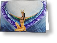Isis Wings Greeting Card